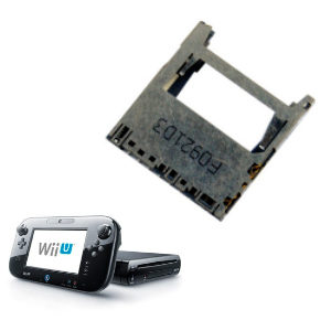 Repara Consolas Lector de tarjeta Nintendo Wii U